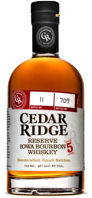 Cedar Ridge Iowa Reserve Bourbon Whiskey