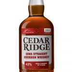 Cedar Ridge Iowa Straight Bourbon Whiskey Bottle